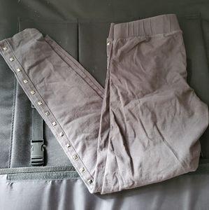One Step Up/Gray Studded Leggings